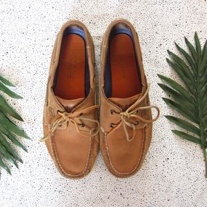 SPERRY'S Tan Leather Men's Shoes